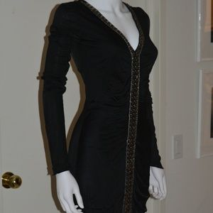 Emilio Pucci Little Black Dress with Embellishment